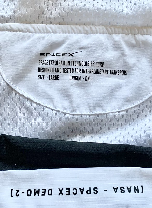SpaceX Demo-2 Flight Jacket