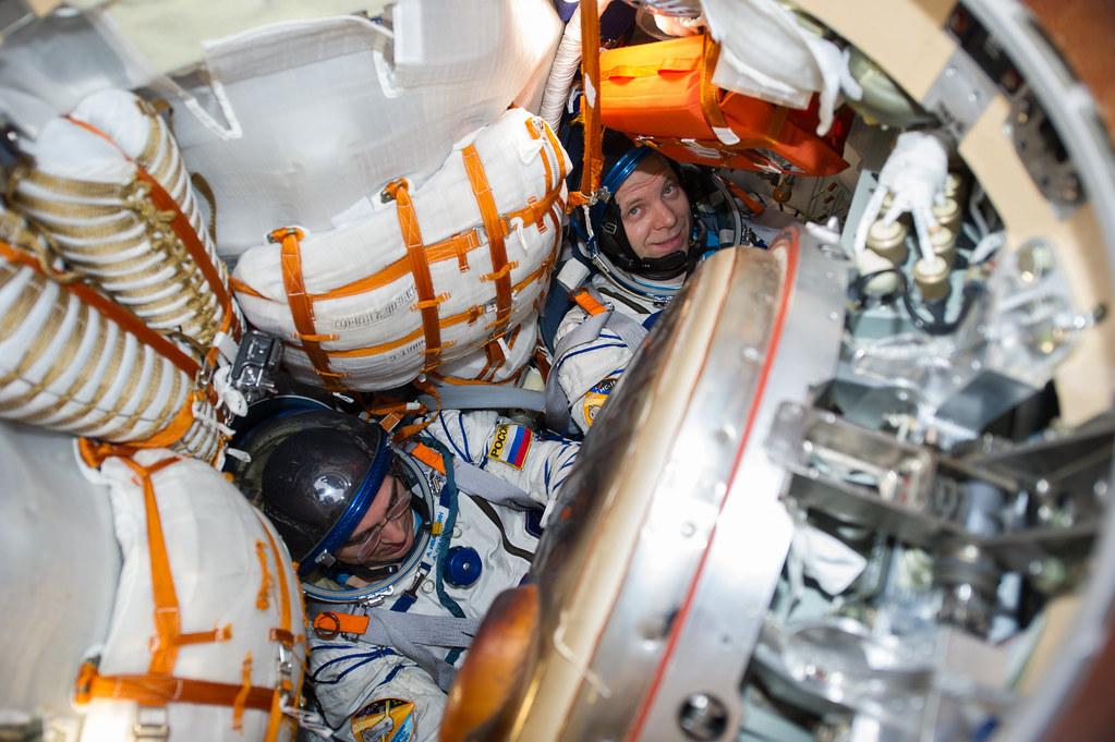 Expedition 63 Soyuz Landing (NHQ202010220012) Photo Credit: (NASA/GCTC/Denis Derevtsov)