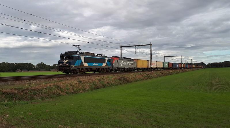 TCS 101001 + PKP EU46-513, Teuge