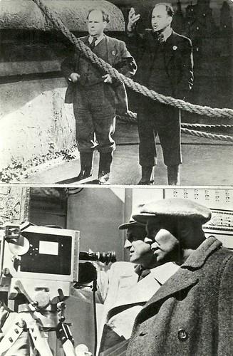 Sergei Eisenstein and Michail Romm