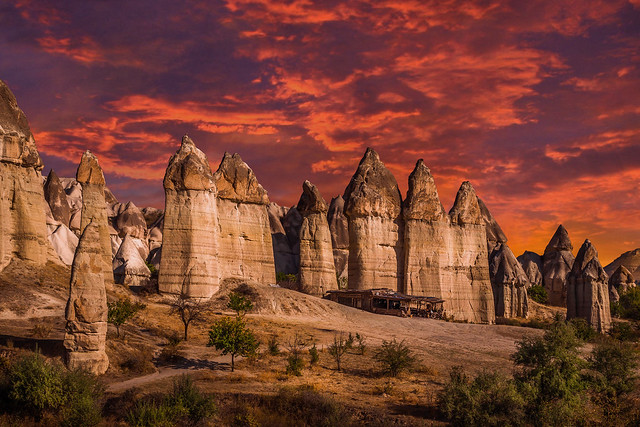 Kızıl Aşk Vadisi (Love Valley - Cappadocia)