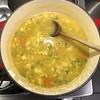 Homemade is the best made. #Turkey #Stock #puree #cauliflower #soup #homemade #Food #CucinaDelloZio - #chickpeas #ceci