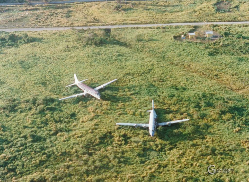 HI-457 & N612CA Douglas DC-6