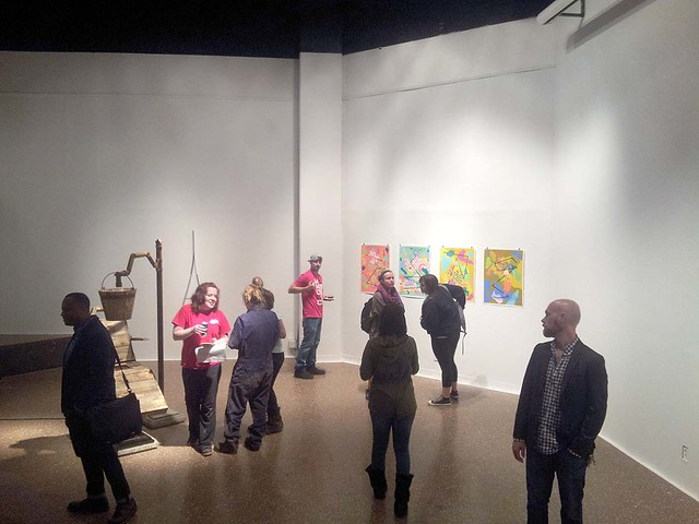 """Reservoir: a first year MFA exhibit"" - Fall 2013"
