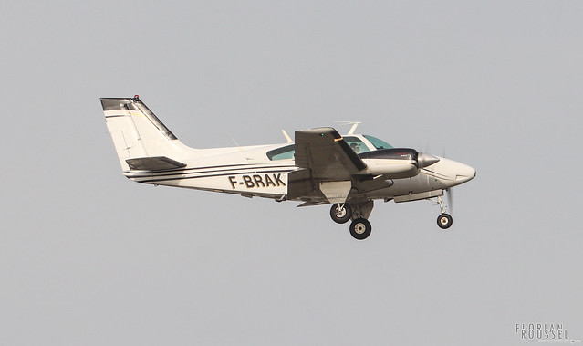 Beech 95-B55 Baron Private Owner F-BRAK