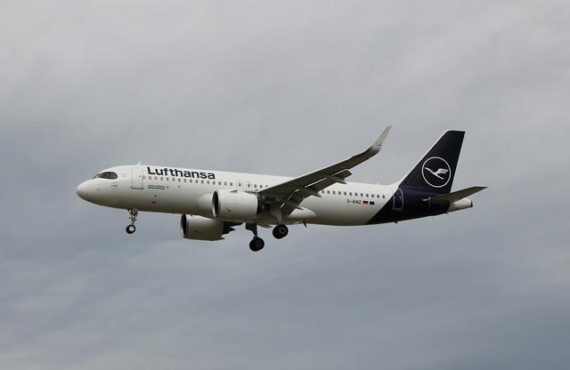D-AINZ Airbus A320-271N/SL Lufthansa