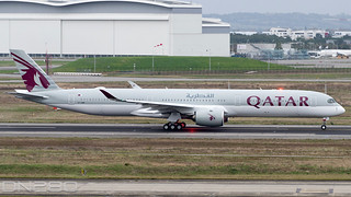 Qatar Airways A350-1041 msn 399 A7-ANR