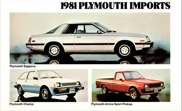 1981 Plymouth Imports