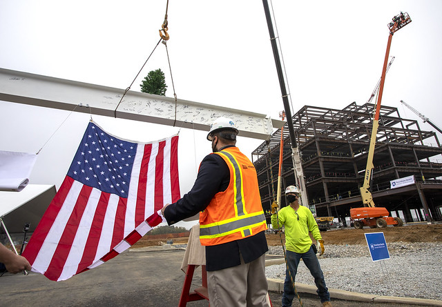 Lancaster Medical Center Topping Off Ceremony