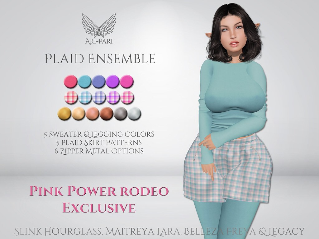 [Ari-Pari] Plaid Ensemble