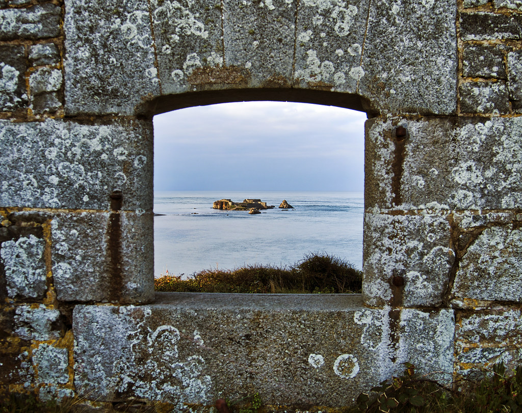 Fort Clonque from Fort Tourgis, Alderney
