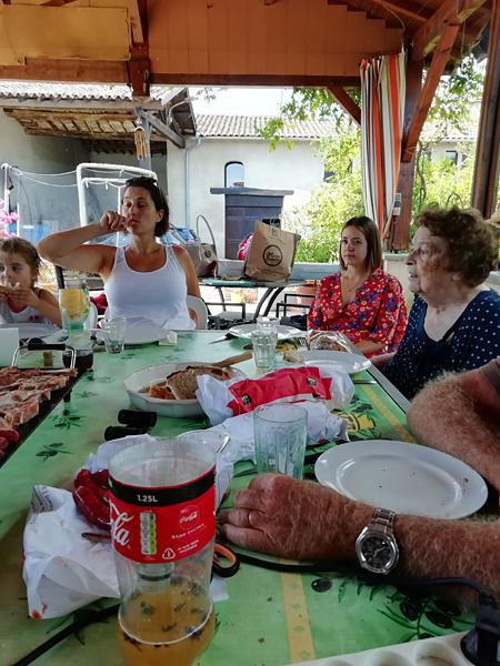 déjeuner familial