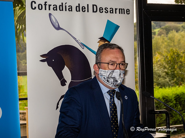 VIII Capitulo 2020  Cofradia del Desarme. Restaurante De Labra, Oviedo, Principado de Asturias, España.