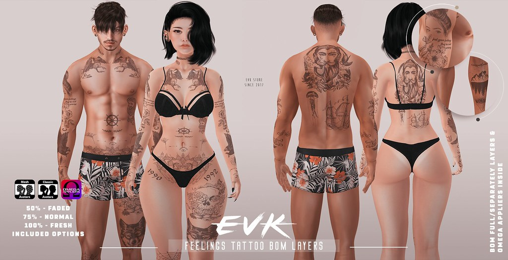 [ E V K ] Feelings Tattoo