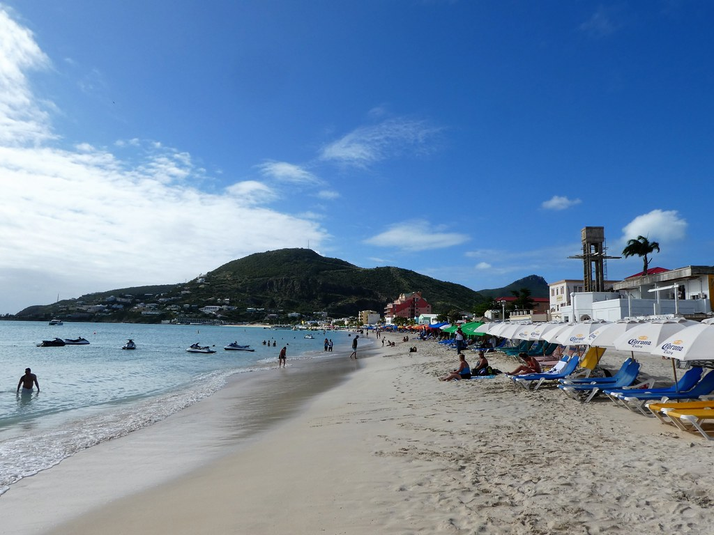 Philipsburg, Sint Maarten - Great Bay Beach