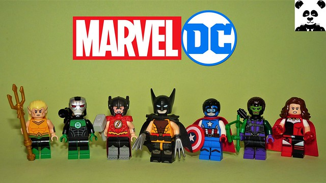Marvel Characters as DC Characters