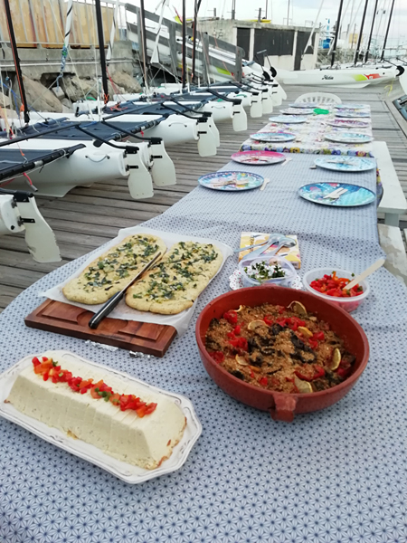 dîner sur le quai