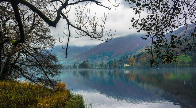 Distant view of Grasmere