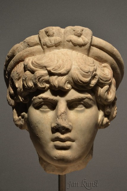 Antinous as Priest of the Imperial Cult
