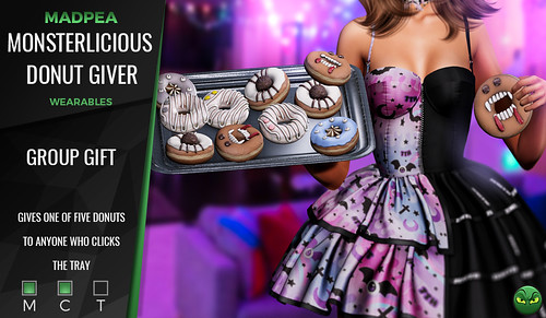 Group Gift: MadPea Monsterlicious Donut Giver