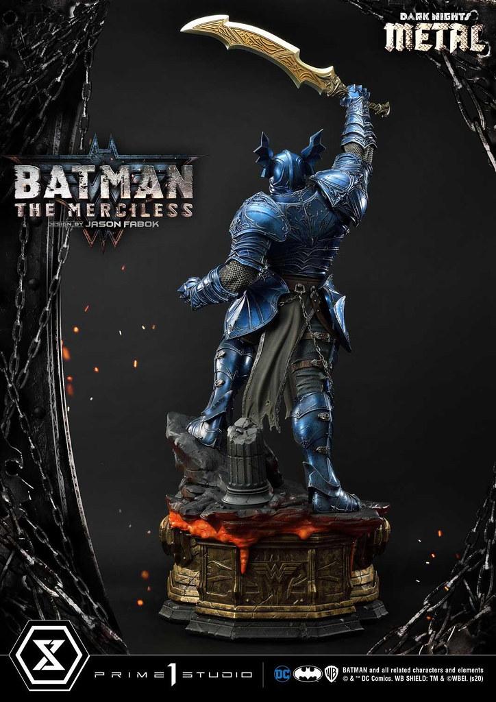 Prime 1 Studio《Dark Nights: Metal》蝙蝠俠-無情者 1/3比例全身雕像!無人可擋的強悍氣勢再現