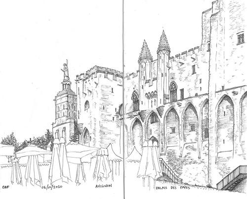 Avignon : Palais des Papes