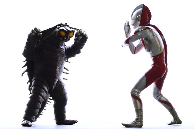KEYLLA vs Ultraman
