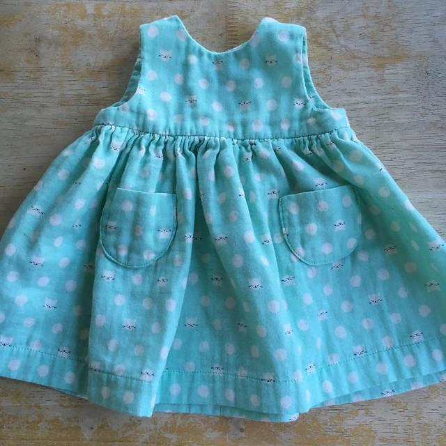 Little Geranium Dress in Double Gauze