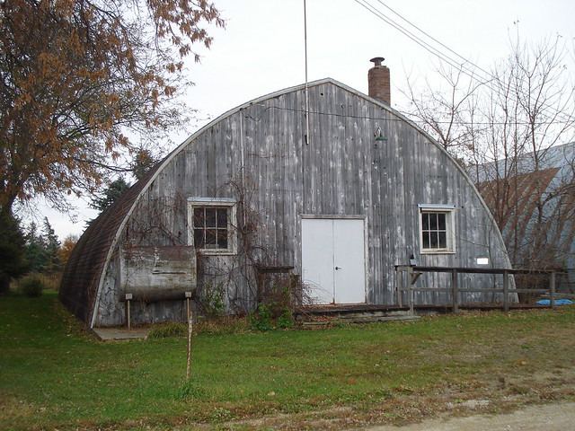 Wooden Quonset