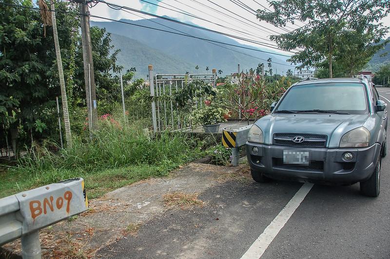 舊莊總督府土木局水準點停車處