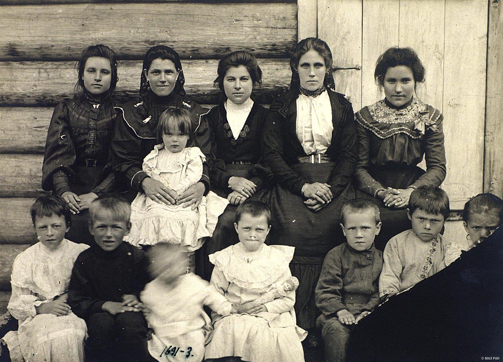 02. Групповой портрет семьи Калуцких