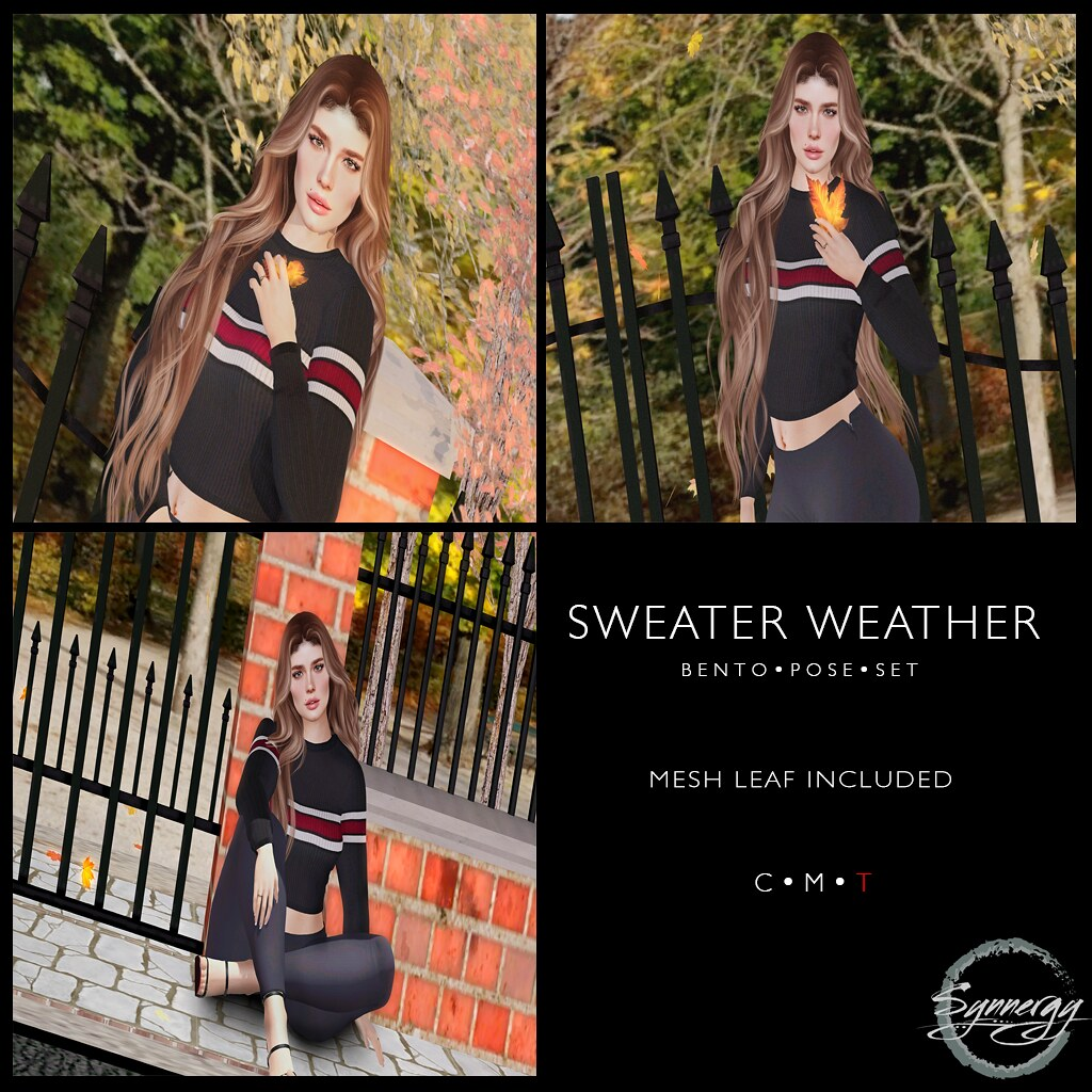 Sweater Weather Pose Set @ Golden Days Event