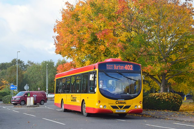 Midland Classic YN05 GXP - Town Meadows Way, Uttoxeter