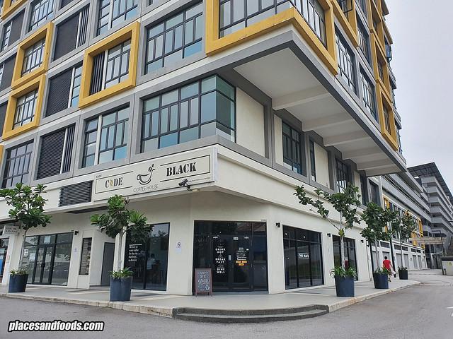 code black cafe kajang