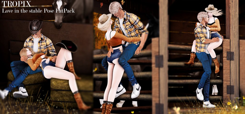 TROPIX // Love in the stable Pose FatPack