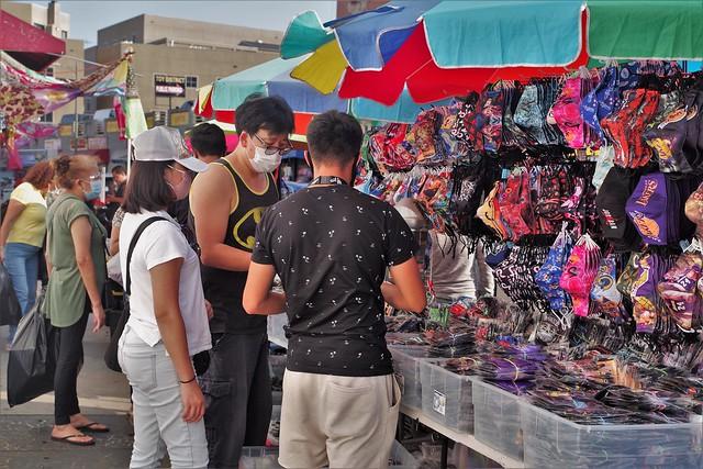 True Covid Scene - Mask Buying