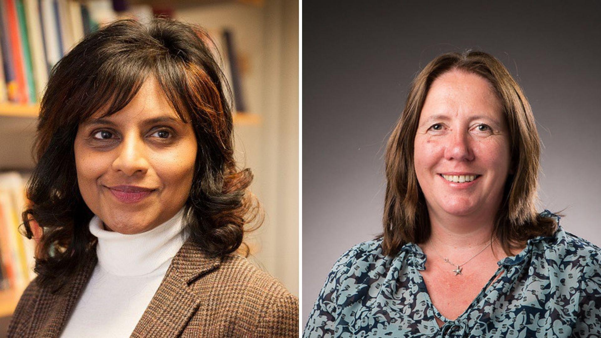 Professor Rajani Naidoo and Alex Butler
