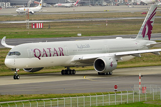 Airbus A350-1000 XWB - Qatar Airways