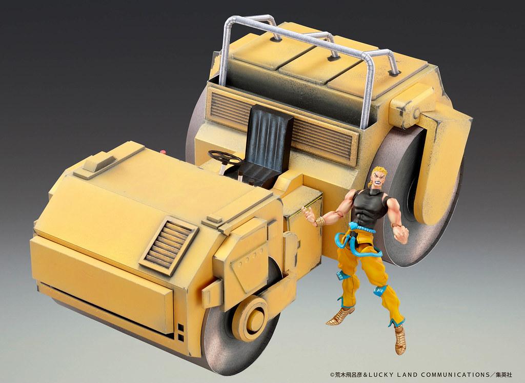 超像可動《JoJo的奇妙冒險 星塵鬥士》DIO 覺醒版&壓路機紙模套組再販登場!真是嗨到不行啦~