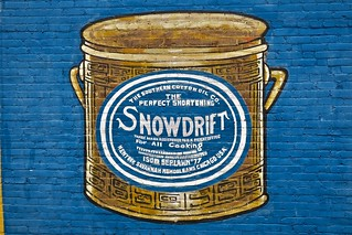 Snowdrift Ghost Sign, Andalusia, AL