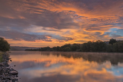 *Golden morning by the river* | by Albert Wirtz @ Landscape and Nature Photography