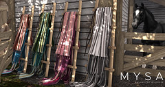 MYSA Decor Saddle Blankets @ Fall Horse Show!
