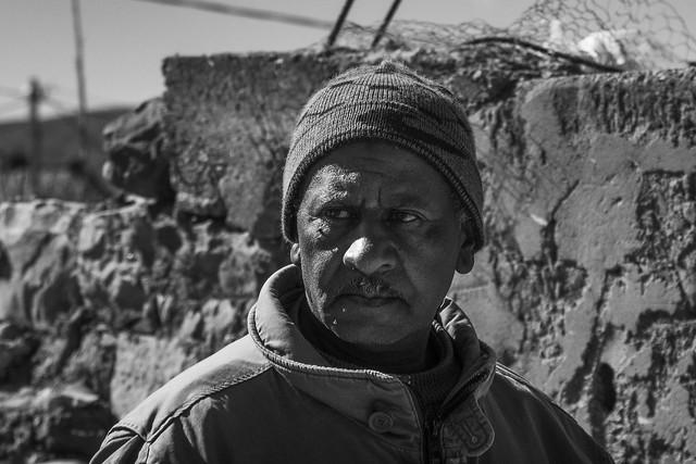 portrait in the Sahara