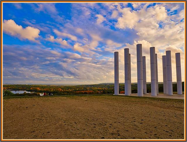 Cergy-2020 / L'axe majeur - les douze colonnes