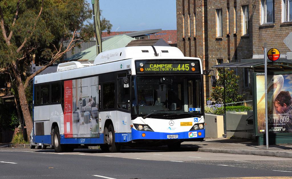 Bus 1868, Leichhardt, Sydney, NSW.