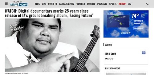 AFT Hawaii News digital documentary on IZ Kamakawiwo'Ole
