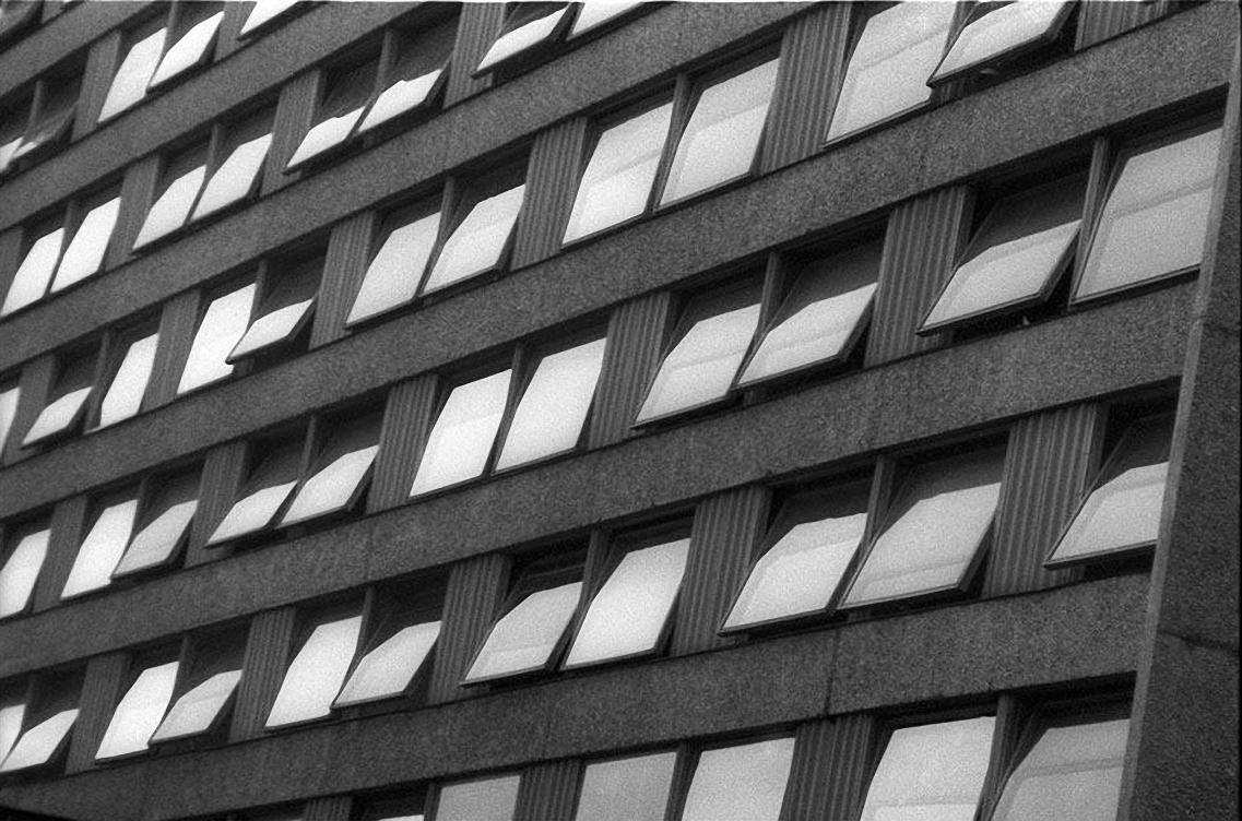1960-е. Окна. Гостиница «Юность». Хамовнический вал1