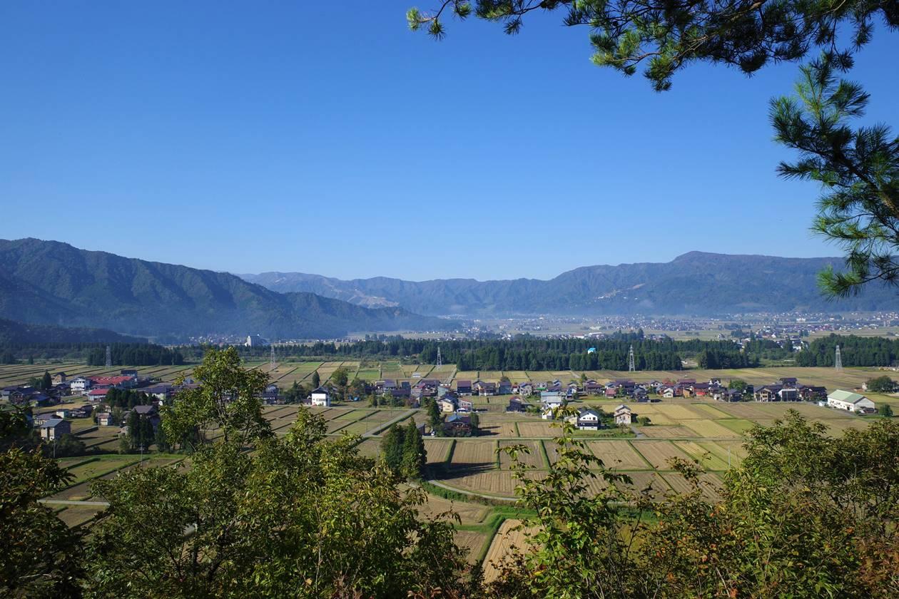 金城山・観音山コース展望台からの眺め