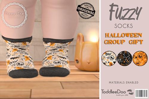 Tippy Tap - Fuzzy Socks Halloween Group Gift