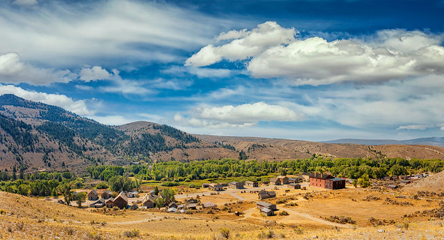 What is left of Bannack